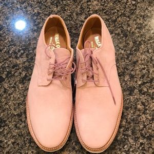 Other - Walk-over Pink nubuck lace up shoes